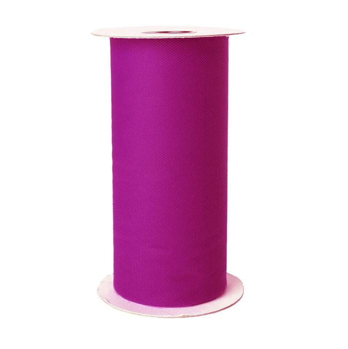 Tulle Spool Fuschia