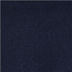11.6 oz Wool Melton Darkest Blue