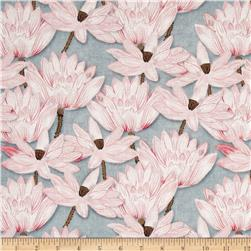 Hanami Falls Lotus Blossoms Grey/Pink