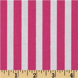 Timeless Treasures Tribeca Simple Stripe Pink