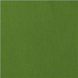 Premier Prints Dyed Solid Organic Green Fabric