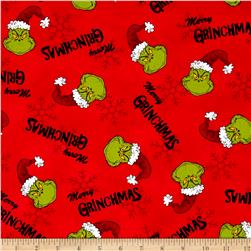 How The Grinch Stole Christmas Merry Grinchmas Red