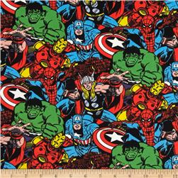 Marvel Knit Packed Characters Multi