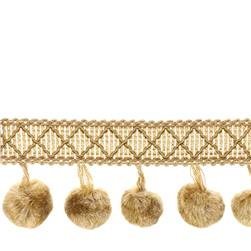 "Trend 2"" 02493 Ball Fringe Gold"