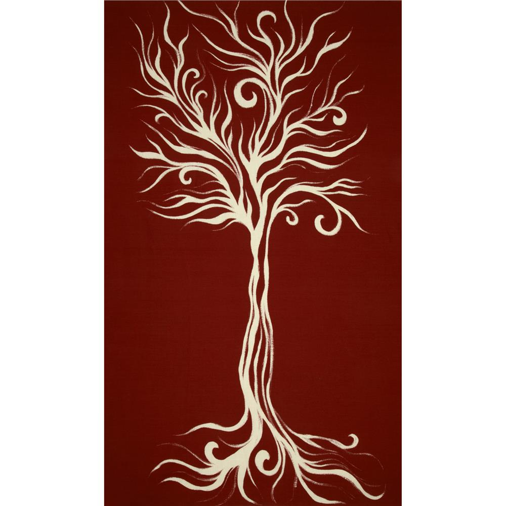 Camelot Wildwood Tree Panel Rust