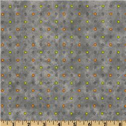 Jeepers Creepers Swirl Dots Grey