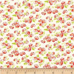 Moda Little Ruby Little Daisy Cream