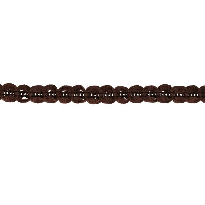 "Riley Blake Sew Together 1/2"" Circle Trim Brown"