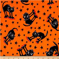 Kanvas Spooktacular Fraidy Cat Orange