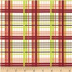 Valori Wells Bridgette Lane Flannel Plaid Cherry