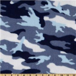 WinterFleece Camo Blue Woodland