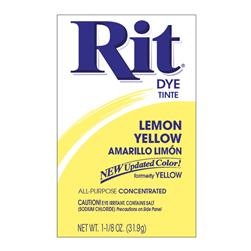 Rit Dye Powder Lemon Yellow