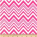 Neon & On Chevron Neon Pink