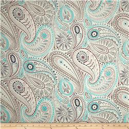 Liberty of London Silk Twill Hunter Paisley Cream