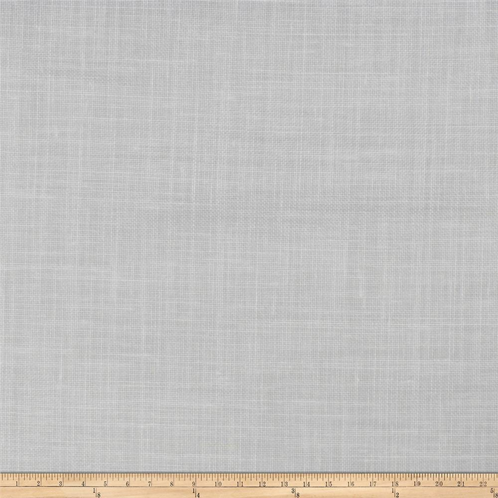 Fabricut Ginger 129'' Linen Blend Sheer Coconut