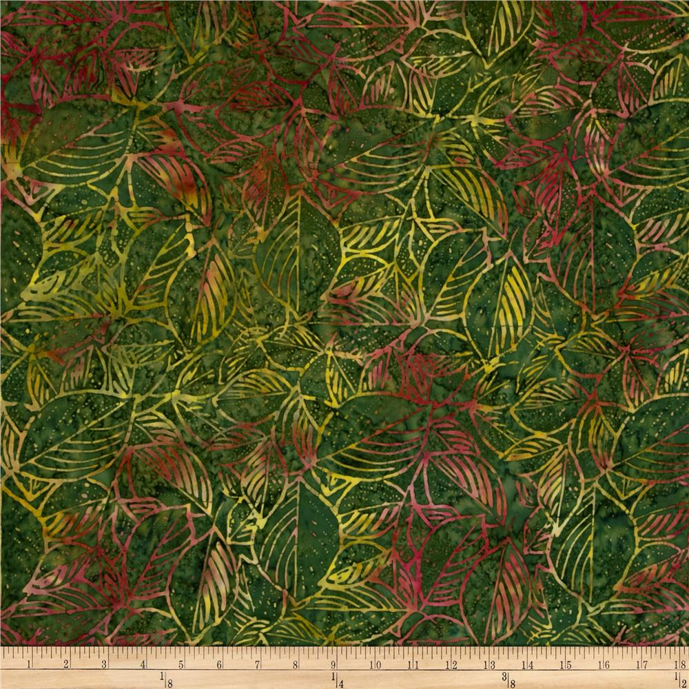 Tonga Batik Mulberry Leaves Hunter