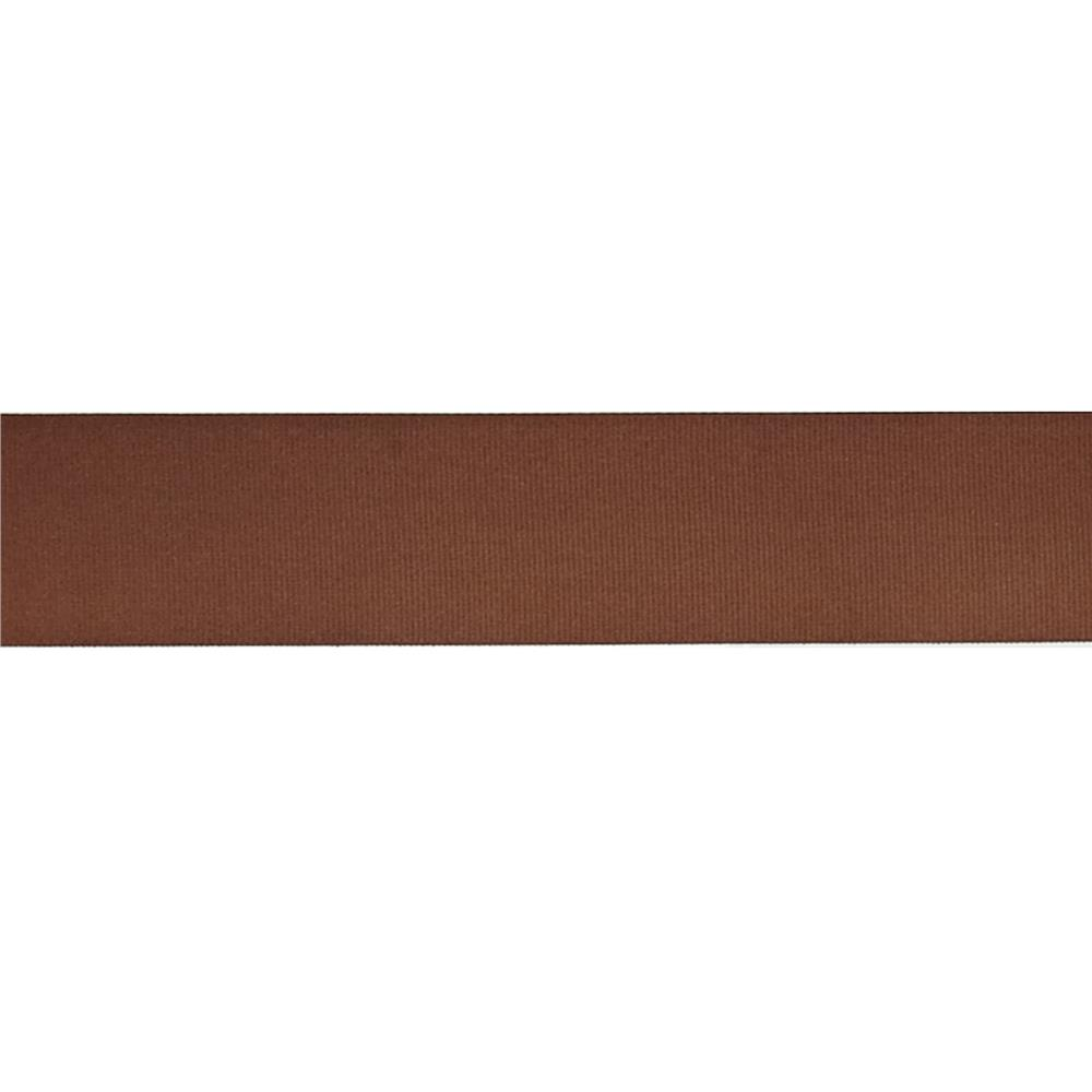"May Arts 1 1/2"" Grosgrain Ribbon Spool Brown"