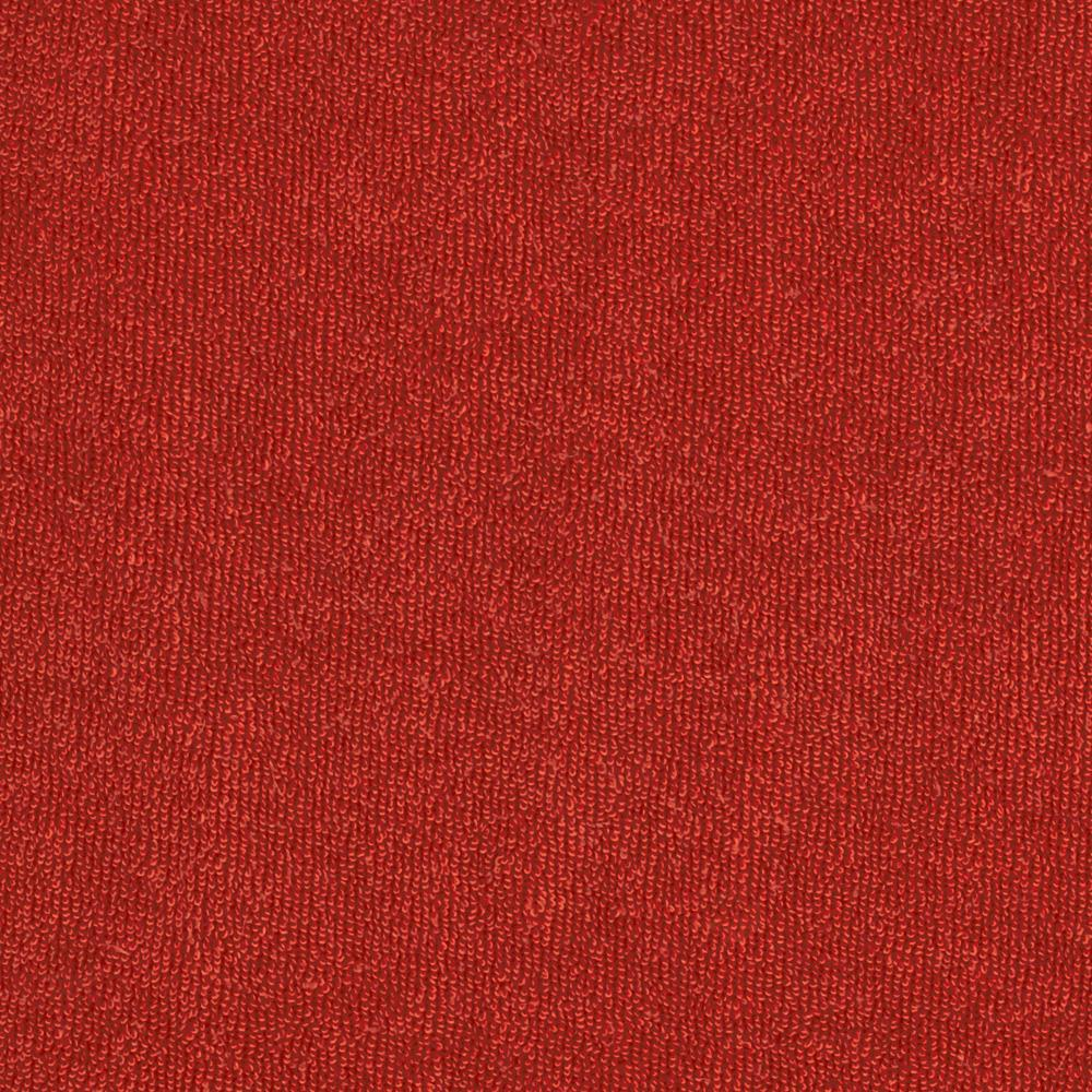Stretch Cotton Blend Micro Terry Cloth Knit Burnt Orange