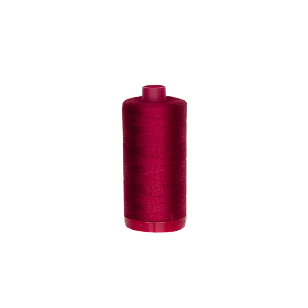 Aurifil 12wt Embellishment and Sashiko Dreams Thread Burgundy