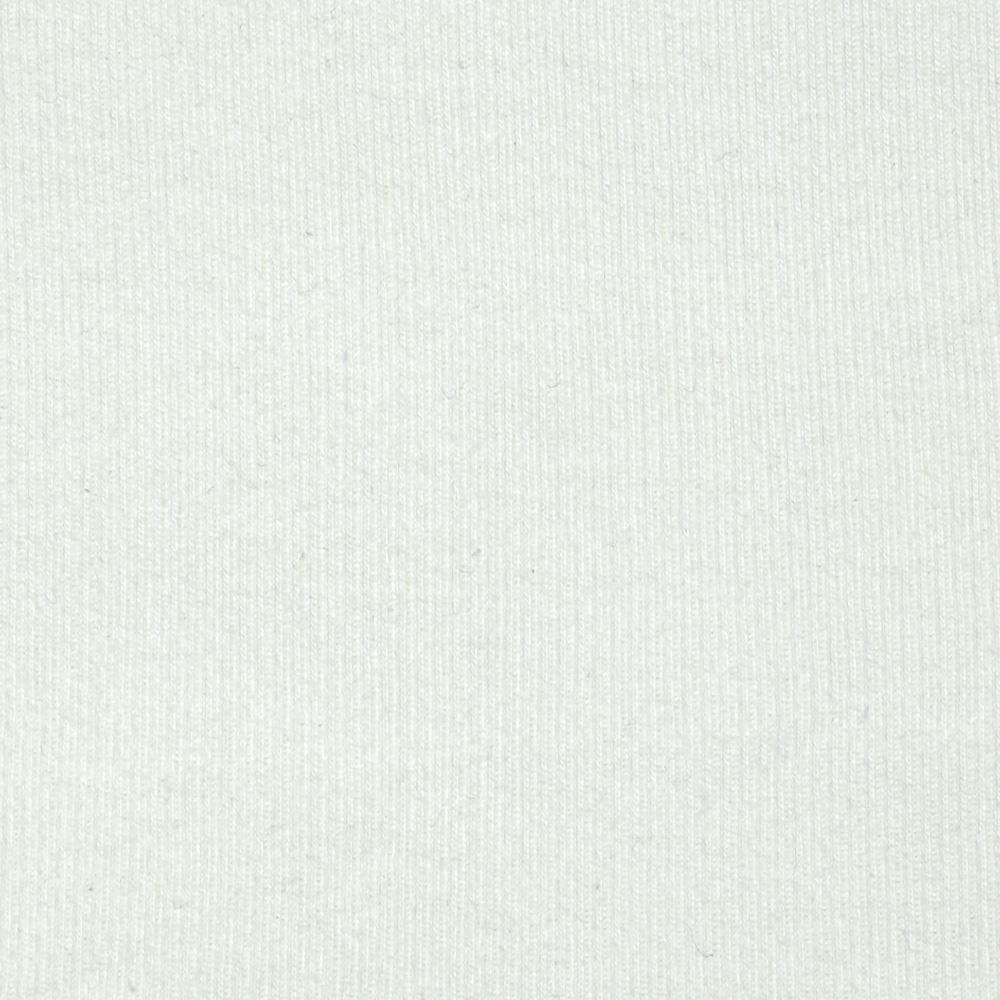 Basic Cotton Rib Knit Off White