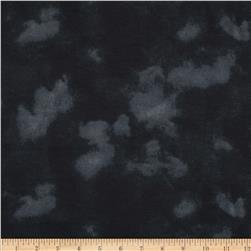 "10"" Wide Flannel Mottled Black"
