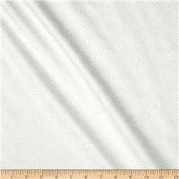 "108"" Contempo Quilt Back White/White"