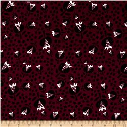 Cotton + Steel Flower Shop Rayon Challis Thistle Cerise
