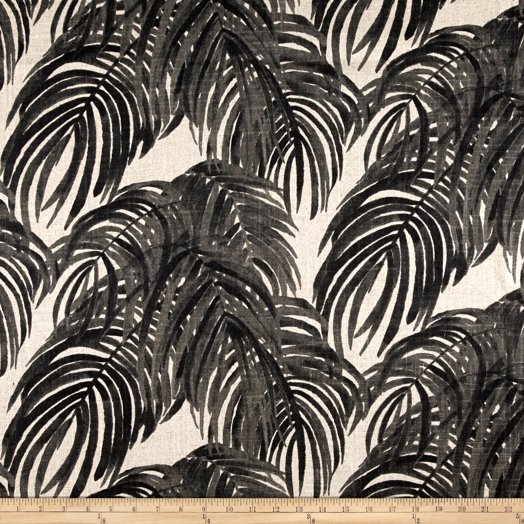 Lacefield Villa Linen Granite Ashby Fabric by Lacefield in USA