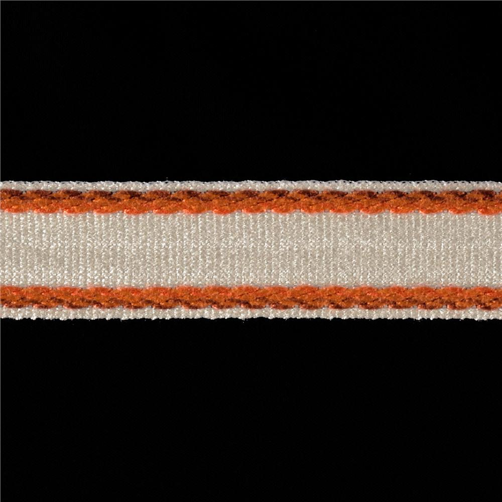 "Duralee 1"" Border Tape Papaya"