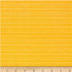 Riley Blake School Days Stripe Yellow