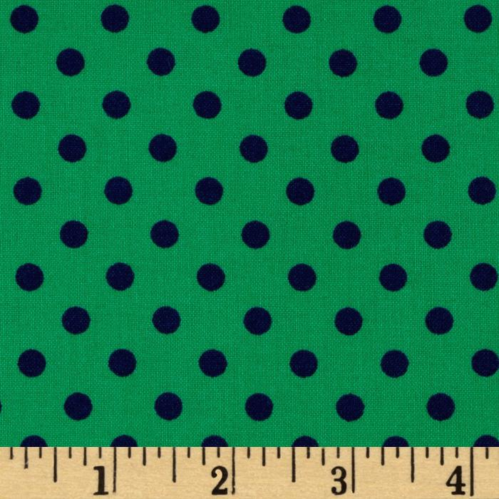 Michael Miller Dumb Dot Turf Green