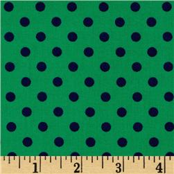 Michael Miller Dumb Dot Turf/Green