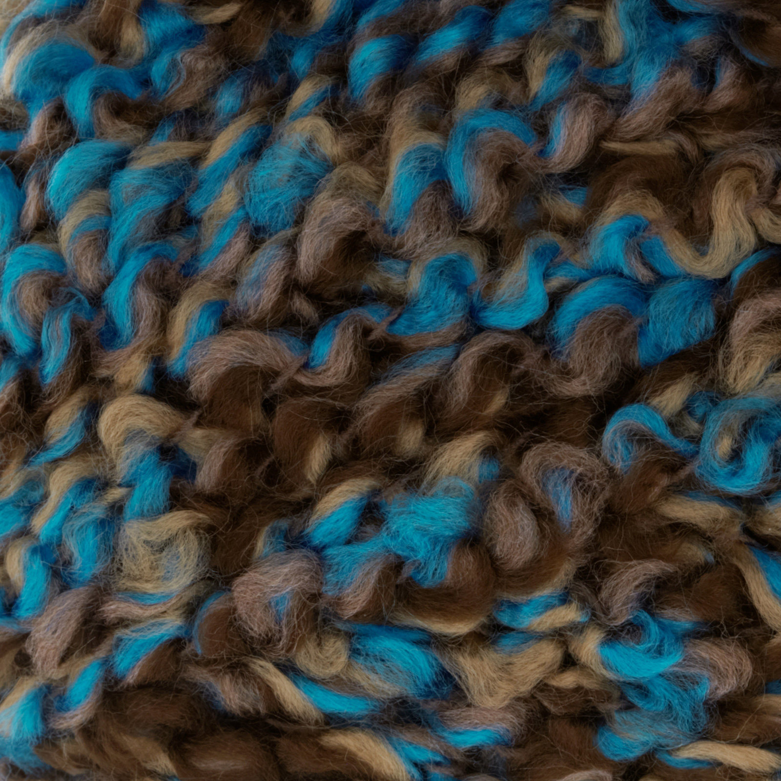 Bernat Soft Boucle' Yarn (46202) Teal Twist