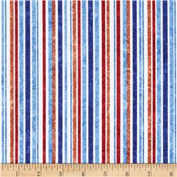 Stonehenge Kids Hoops Stripes Rust/Blue/White