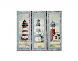 Seaside Lighthouse Picture Patch Panel Multi