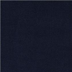 Heavy Weight Rib Knit Navy