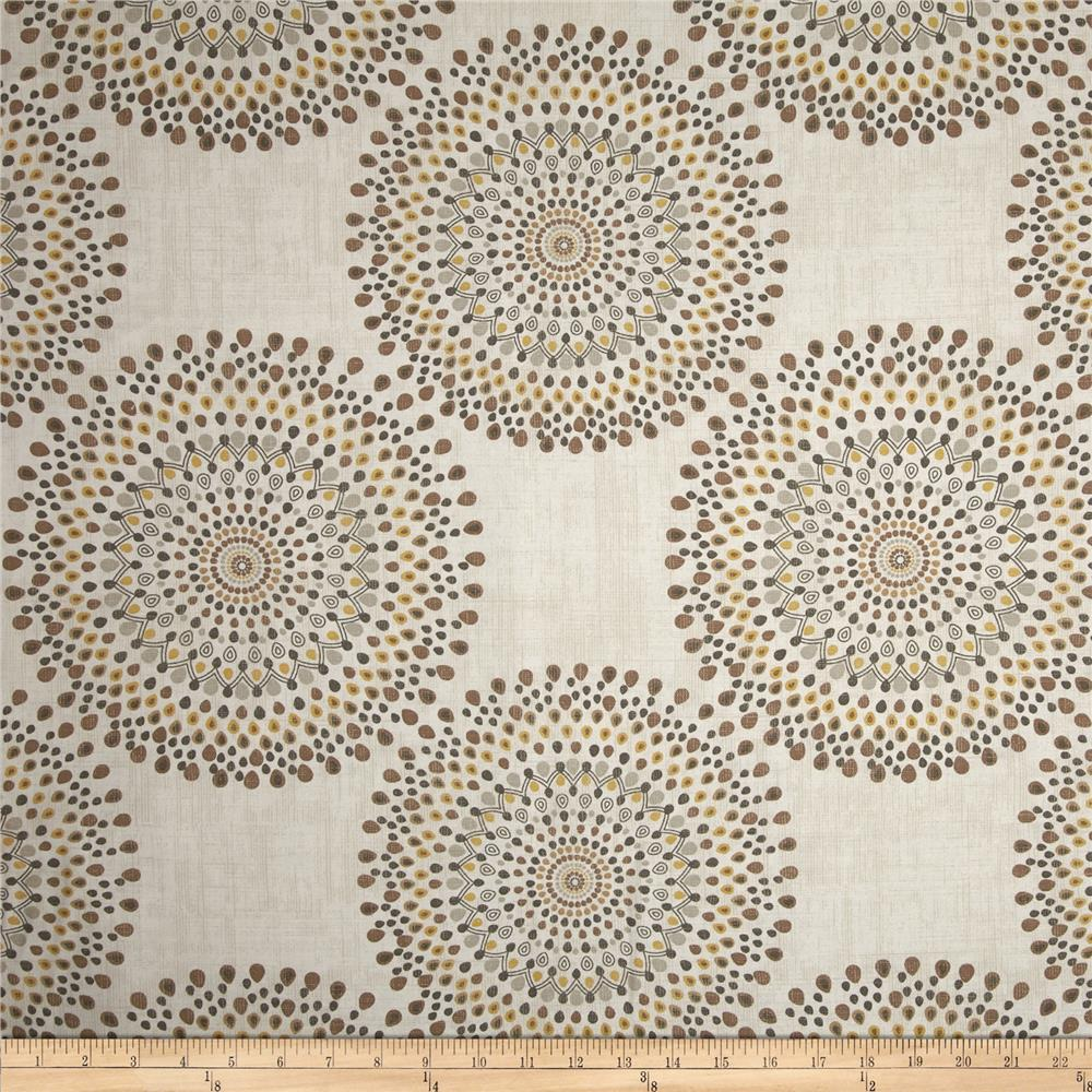 Magnolia home fashions carousel sand discount designer for Cheap fabric material