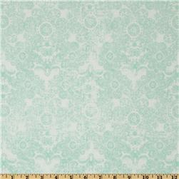 Paris & Company Damask Aqua
