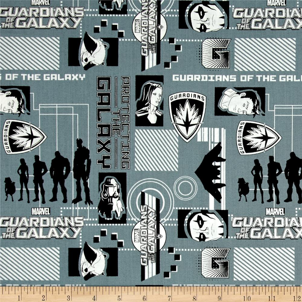 Marvel Guardians of the Galaxy Silhouettes Lead