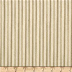 44'' Ticking Stripe Taupe