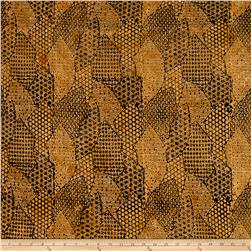 Timeless Treasures Batik Tonga Chai Rising Sun Gold