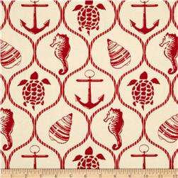 Tempo Oceanside Jacquard Red