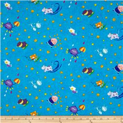 Sanja Rescek Rhyme Time Nursery Motifs Blue