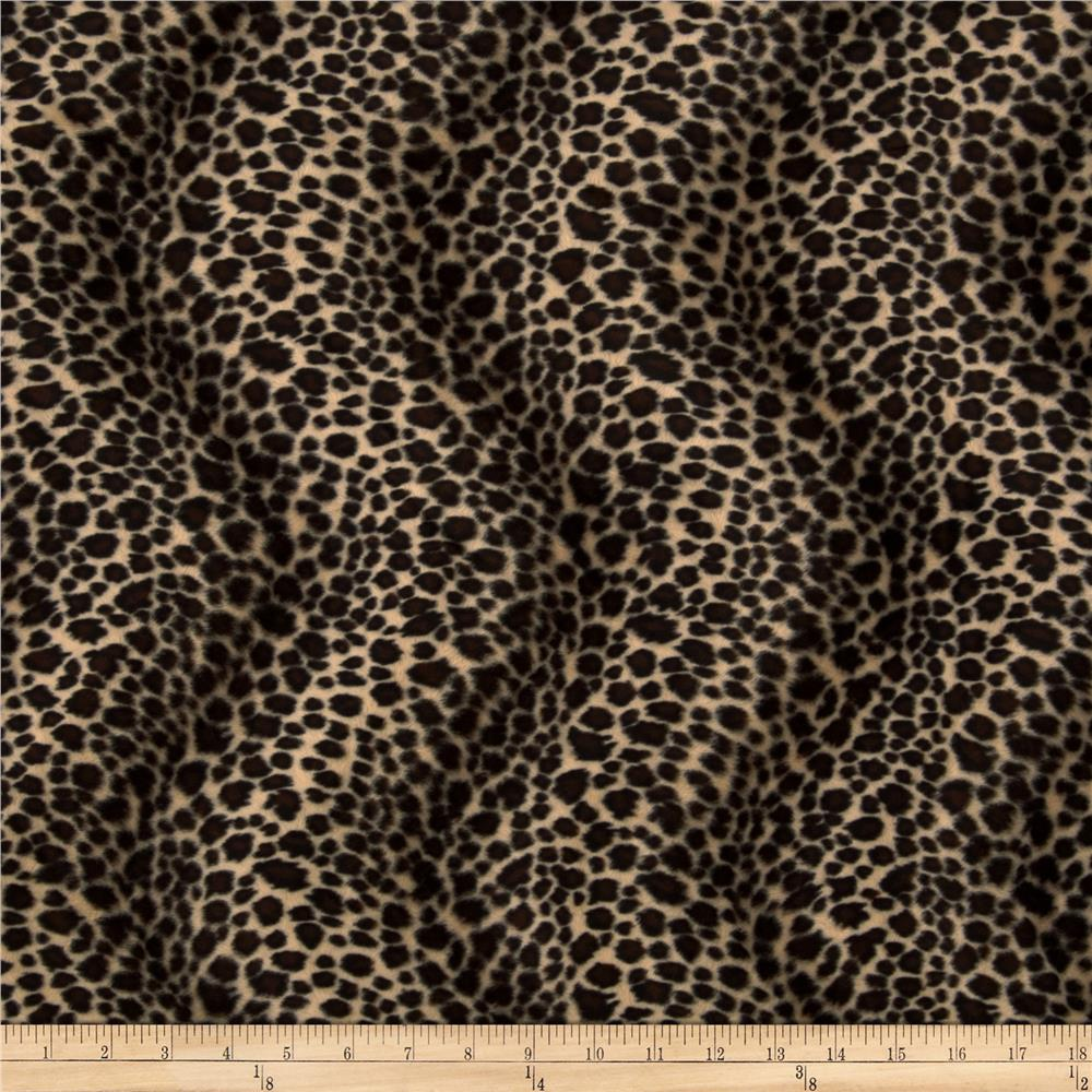 Velboa Faux Fur Cheetah Brown