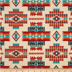 Tucson Beaded Blanket Cream Fabric