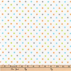 Kaufman Cozy Cotton Flannel Dots Bermuda