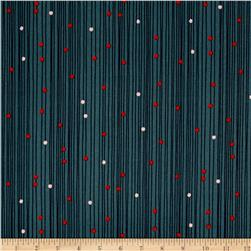 Cotton & Steel Macrame Bead Curtain Deep Sea