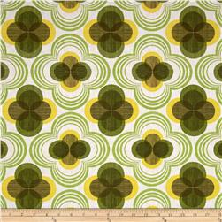 Kaufman Auntie's Attic Flower Canvas Citrus