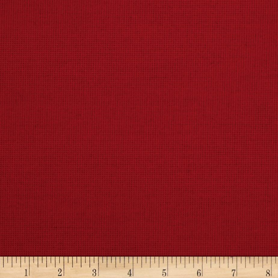 Richloom Solarium Outdoor Solid Aynova Crimson