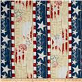 Colors Of Freedom Repeating Stripe Multi